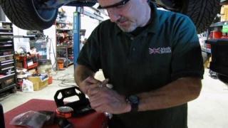 Dynamic Response System Service On Range Rover Sport