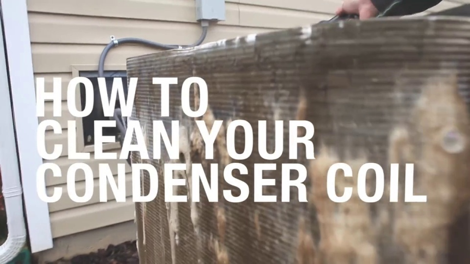 How To Clean Your Condenser Coil video