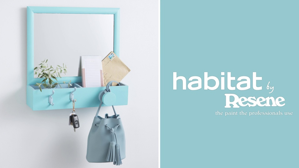 Habitat TV Video: Curtail clutter with this DIY entryway organiser
