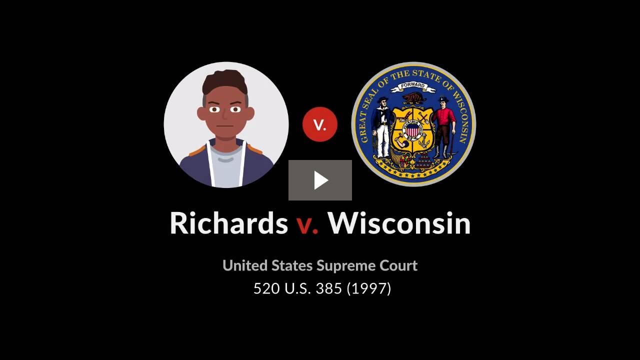 Richards v. Wisconsin