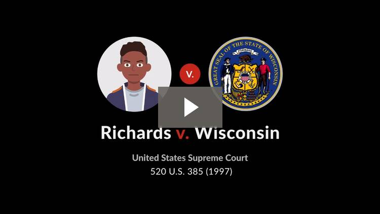 Richards v. Wisconsin