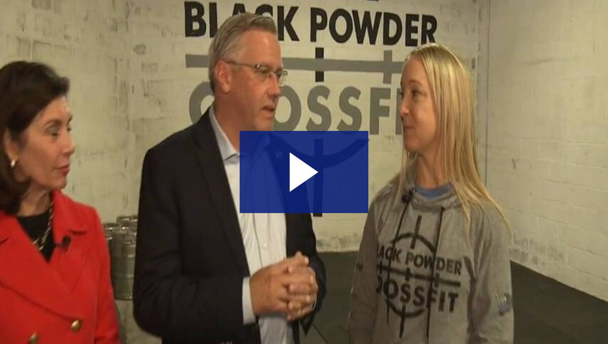 11/8/19 Spotlight on the 28th - Small Business Saturday: Black Powder CrossFit