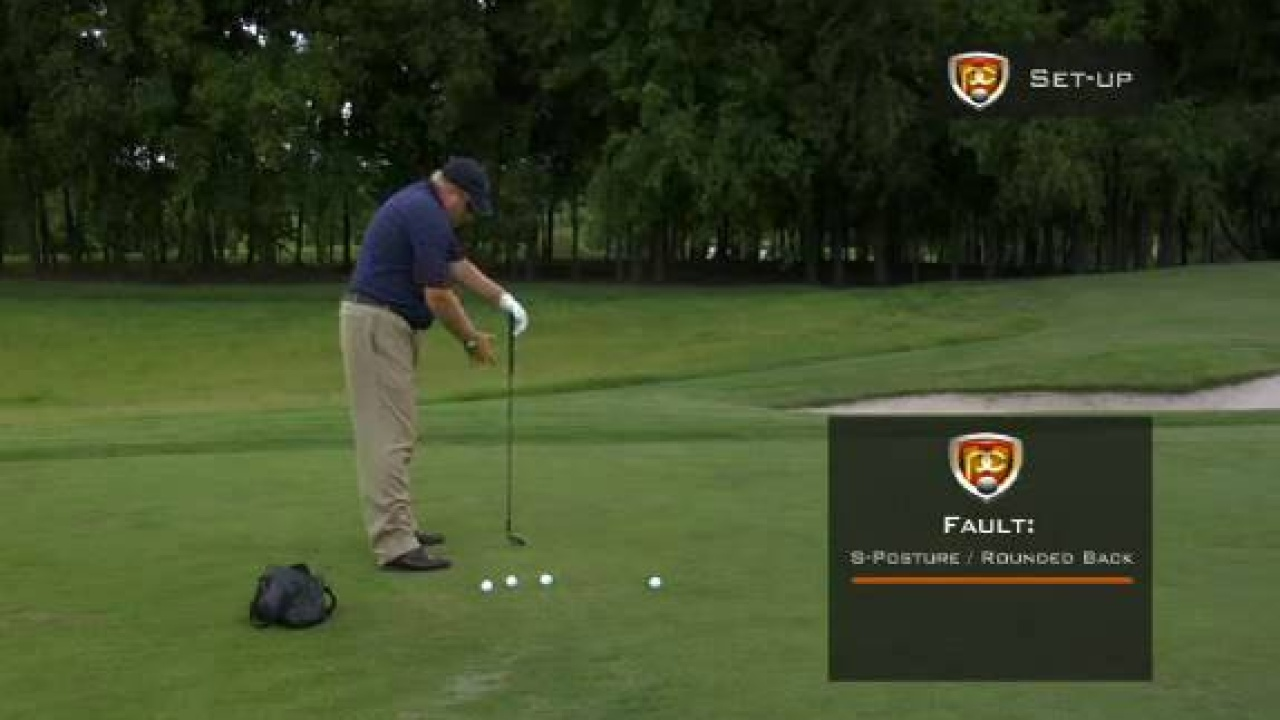 Faults & Fixes: Correct Set-up for Injury Free Golf