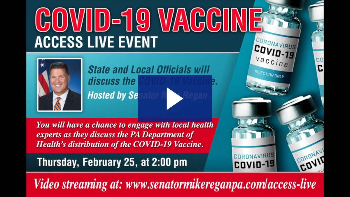 2/25/21 - Virtual Town Hall on COVID-19 Vaccine