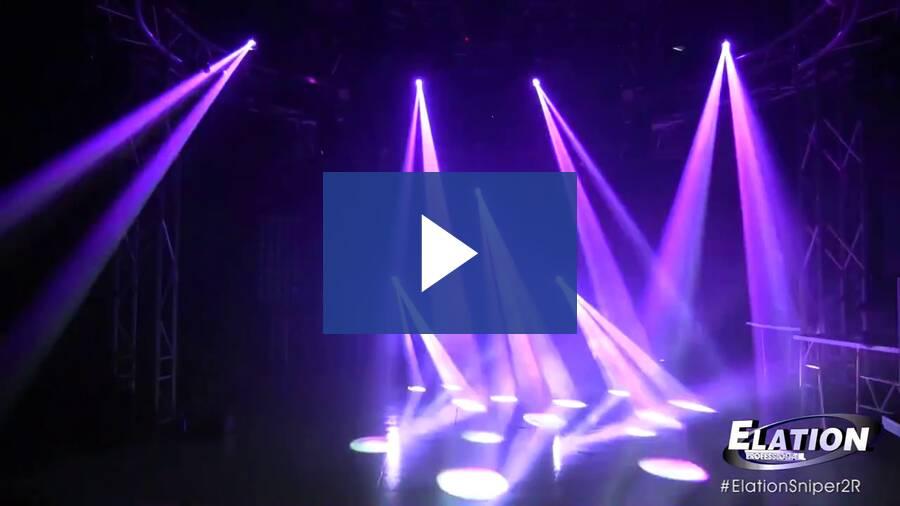 Sniper 2R Light Show 2014