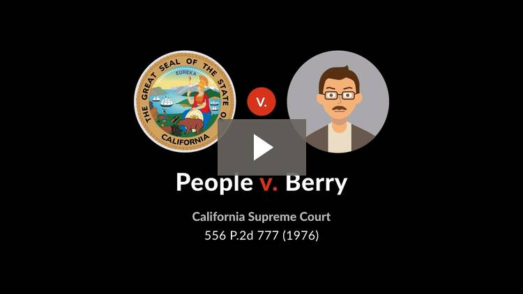 People v. Berry