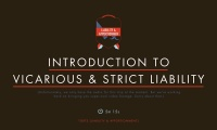 Introduction to Vicarious and Strict Liability thumbnail