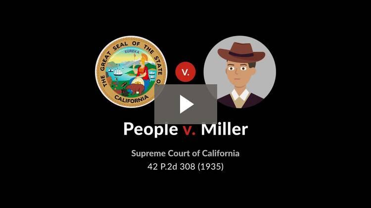 People v. Miller