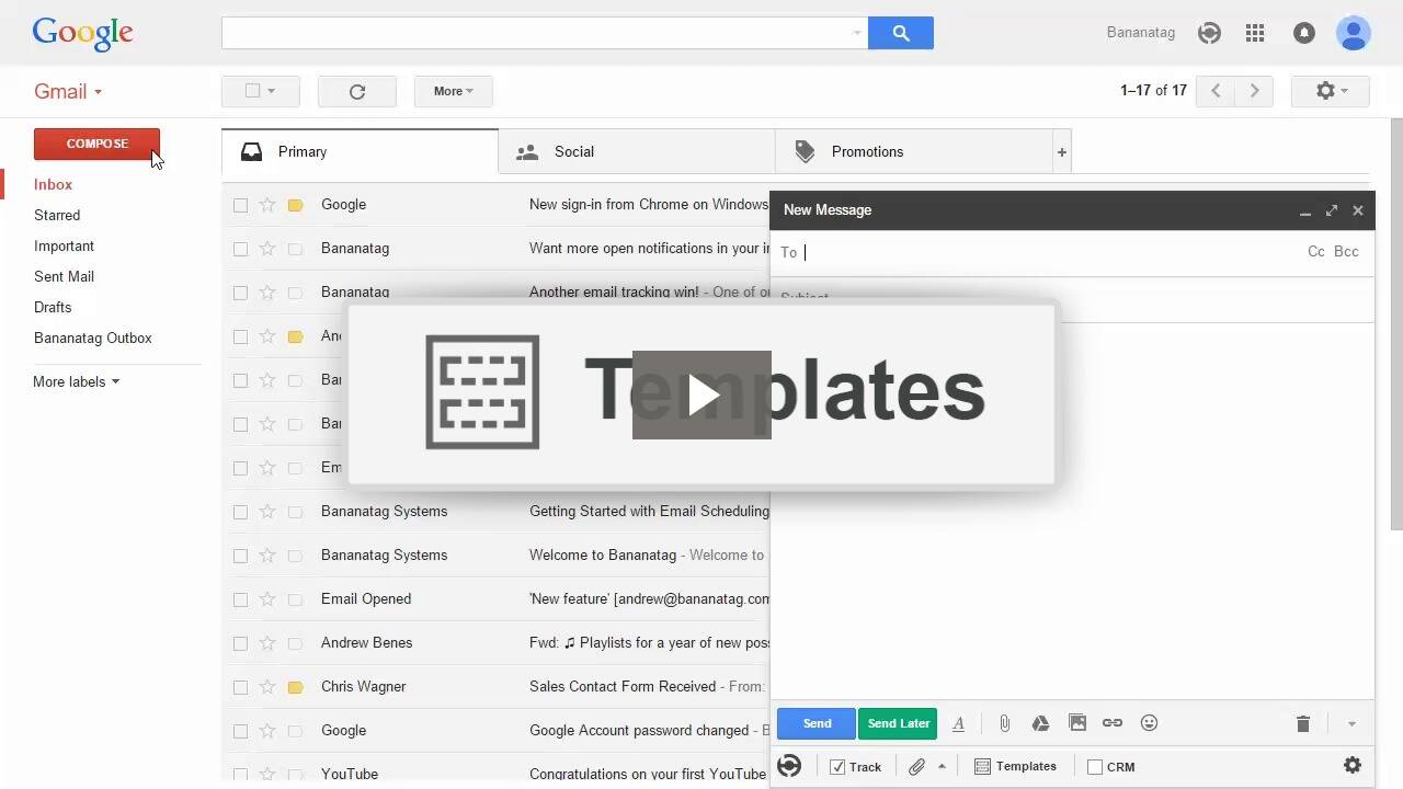 Email Templates for Gmail | Bananatag