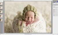 Thumbnail for Newborn Photo Shoot / Retouching Part 1
