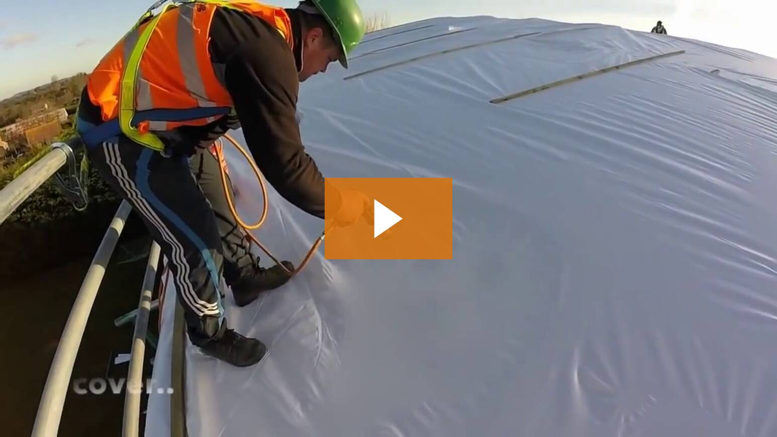 Scaffold Shrink Wrap Training Course - Applying The Skills On Site