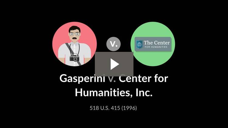 Gasperini v. Center for Humanities, Inc.