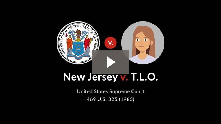 New Jersey v. T.L.O.