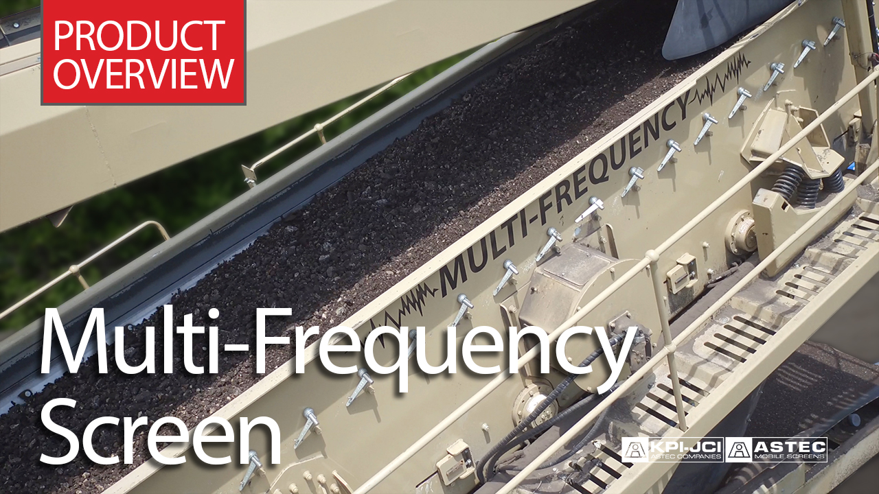 Multi-Frequency Screen Product Overview