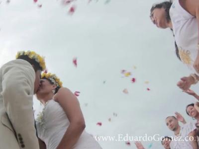 Boda maya y ceremonia religiosa en Cancún