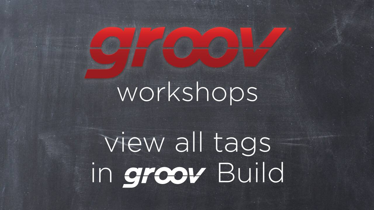 Quick Tip: View all tags in groov Build