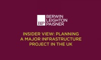 Still image from 'Insider view: planning a major infrastructure project in the UK' video