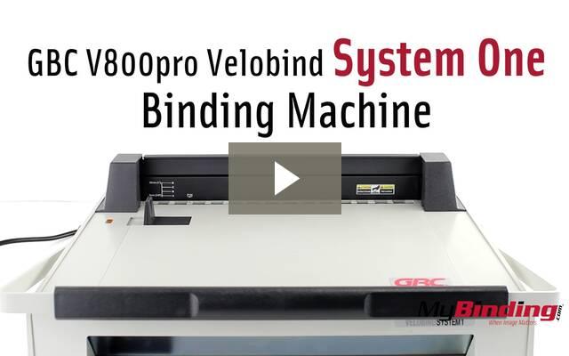 gbc binding machine instructions