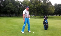 Right Side Progression Drill to Gain Feel on Pitch Shots