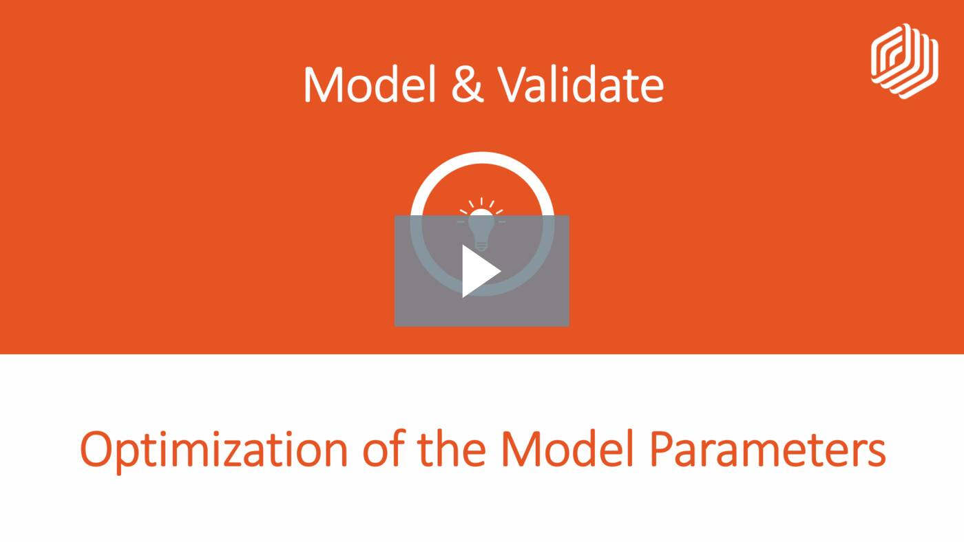 Optimization of the Model Parameters