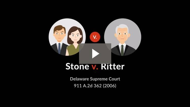 Stone v. Ritter