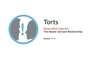Respondeat Superior: The Master-Servant Relationship thumbnail