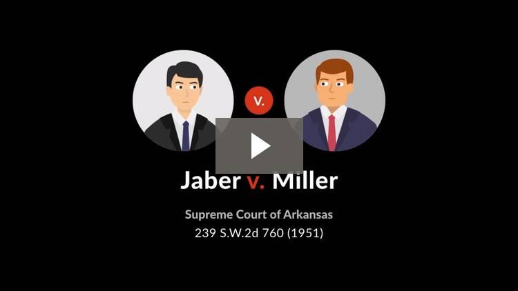 Jaber v. Miller
