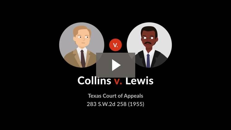 Collins v. Lewis