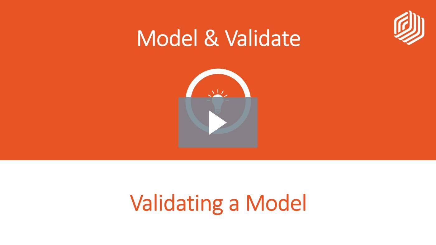 Validating a Model