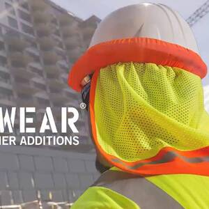 Ergodyne Product Video - GloWear<sup>®</sup> 8253HDZ Type R Class 2 Heavy-Duty Mesh Surveyors Vest