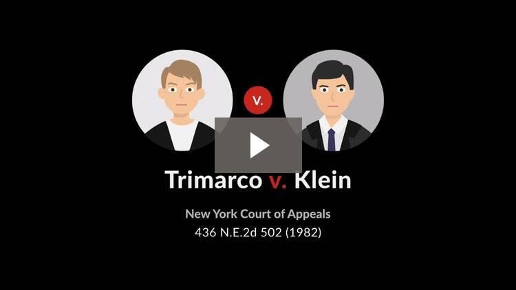Trimarco v. Klein