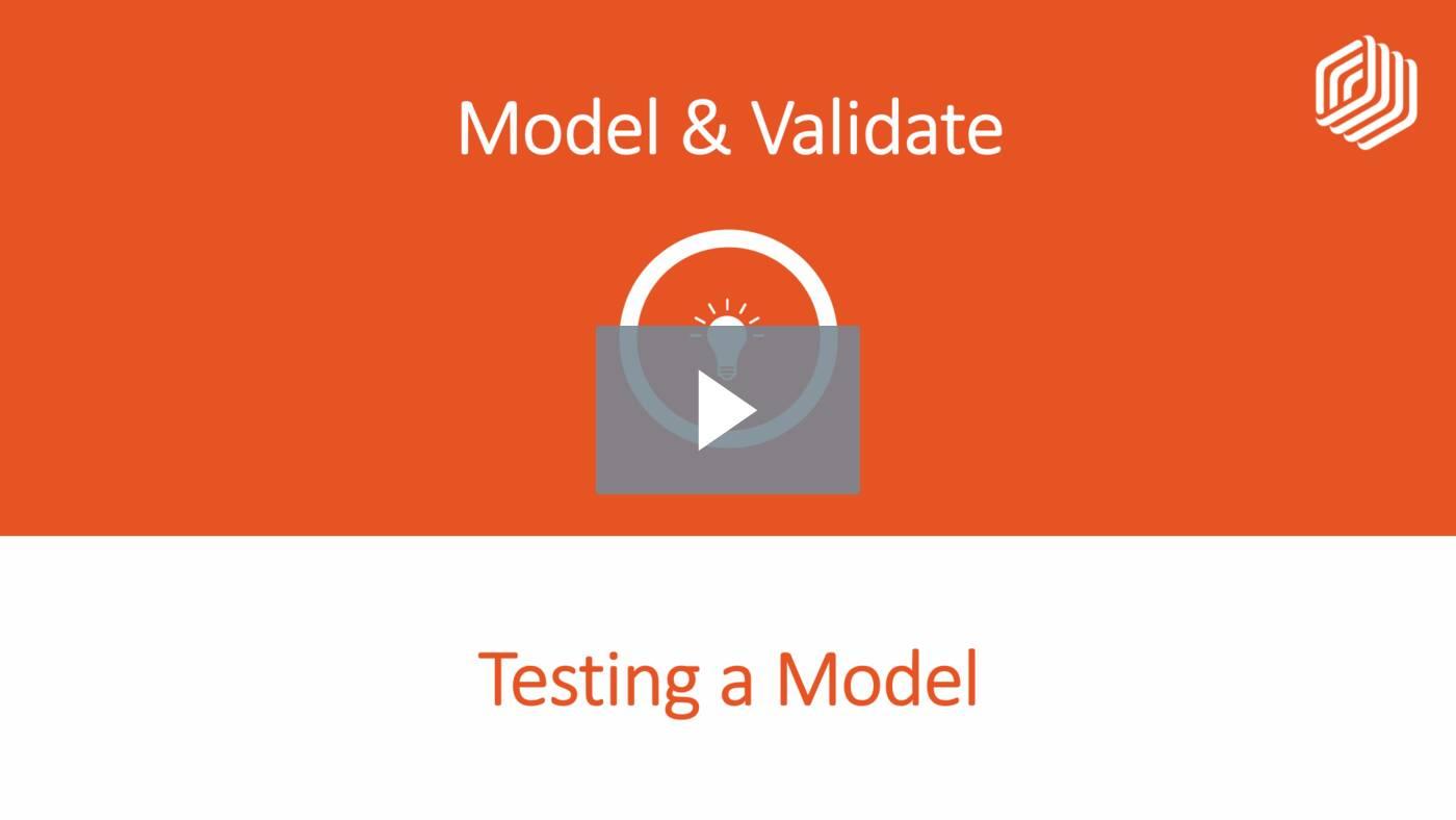 Testing a Model