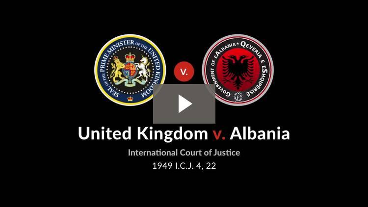 Corfu Channel Case (United Kingdom v. Albania)