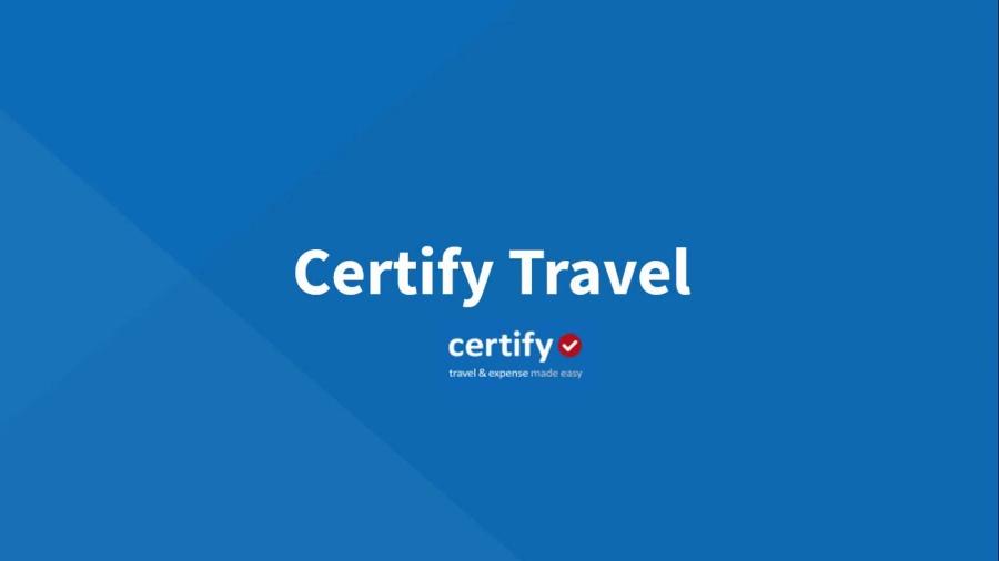 Certify Travel