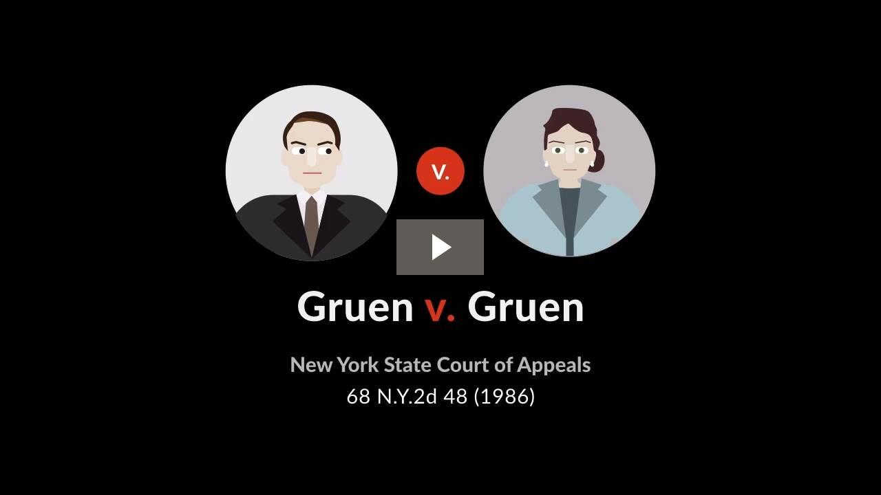 Gruen v. Gruen