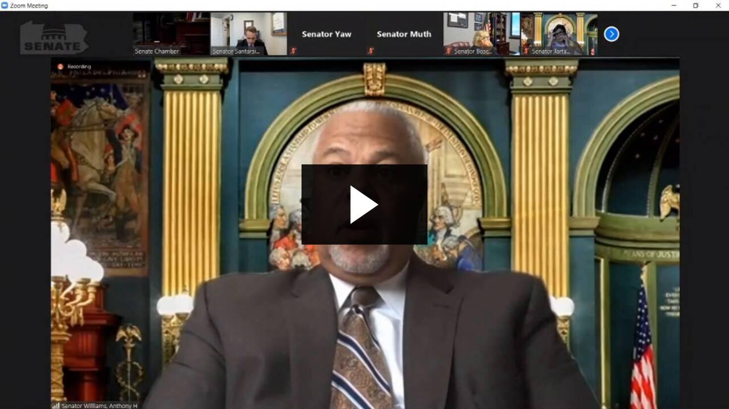 Senator Williams Remarks on Senate Bill 14 :: June 24, 2020