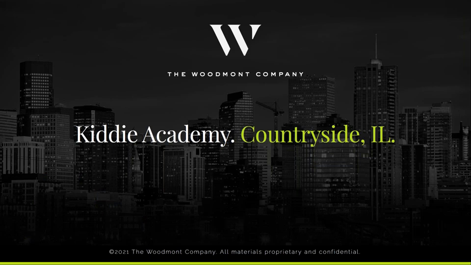 Investment Video - Kiddie Academy Countryside (Chicago MSA) & Value Add Office Redevelopment