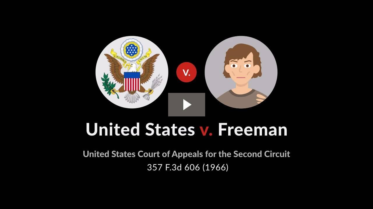United States v. Freeman