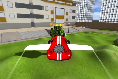 Hoverdroid 3D - radio controlled hovercraft game.