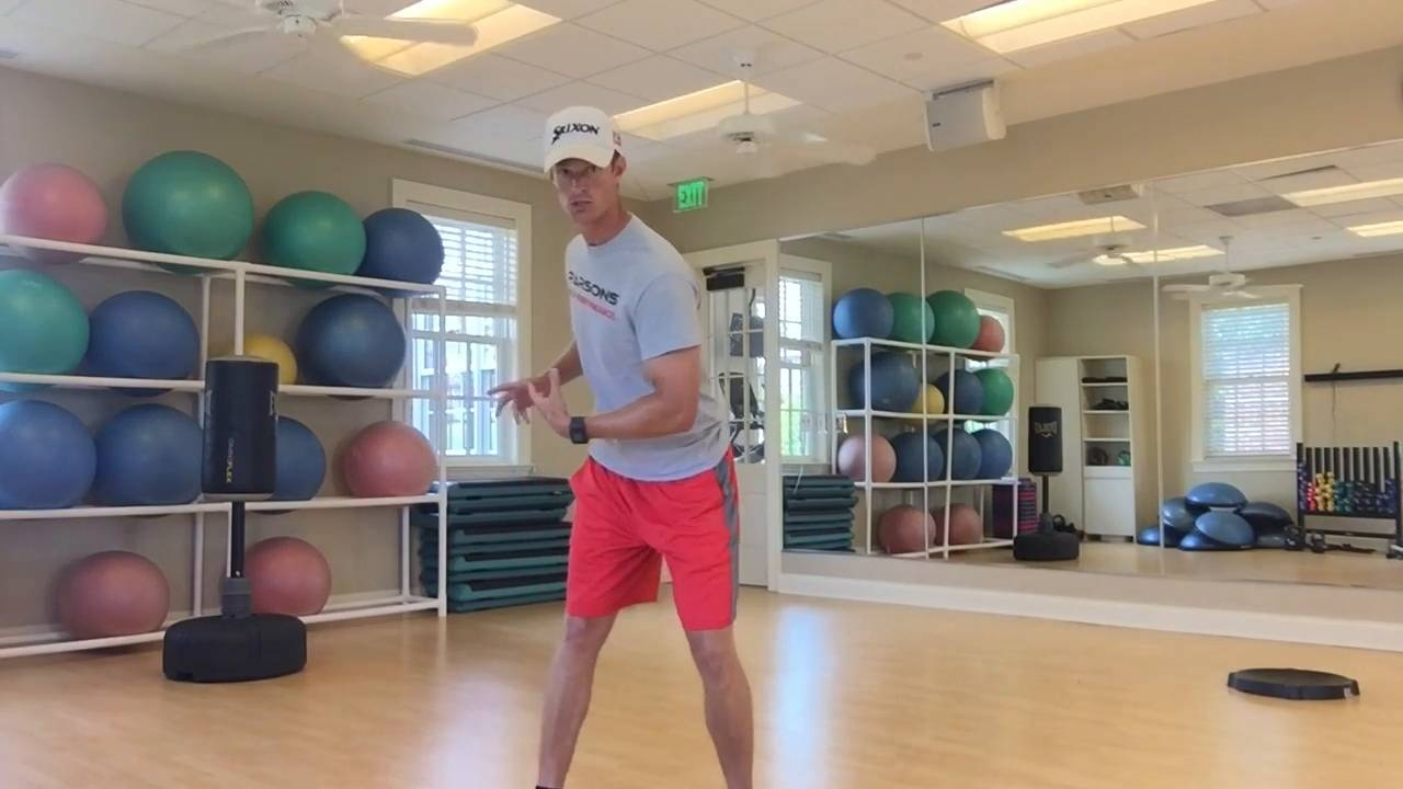 Use the Ground to Find Balance in Your Golf Game