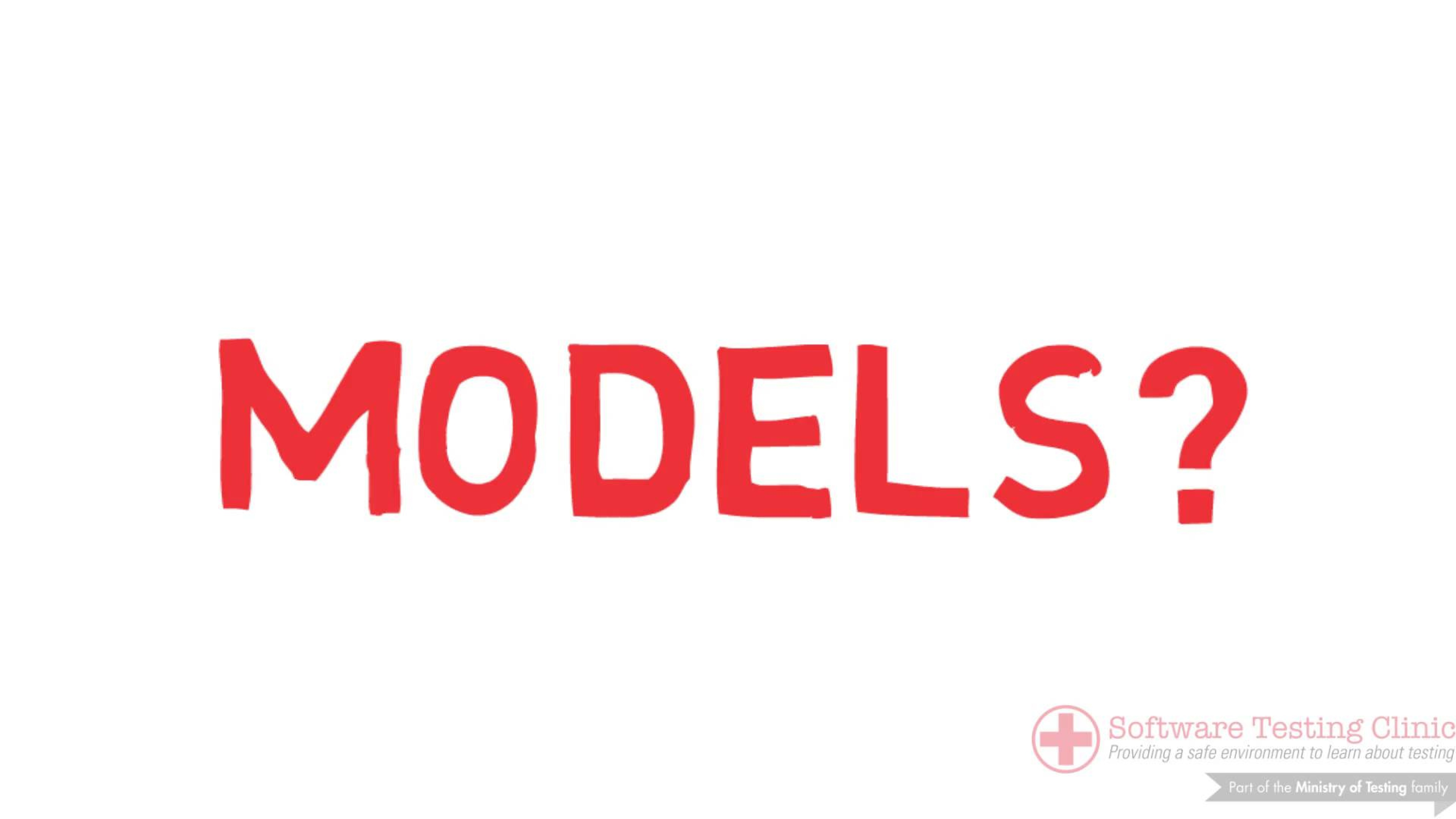99 Second Introduction to Models