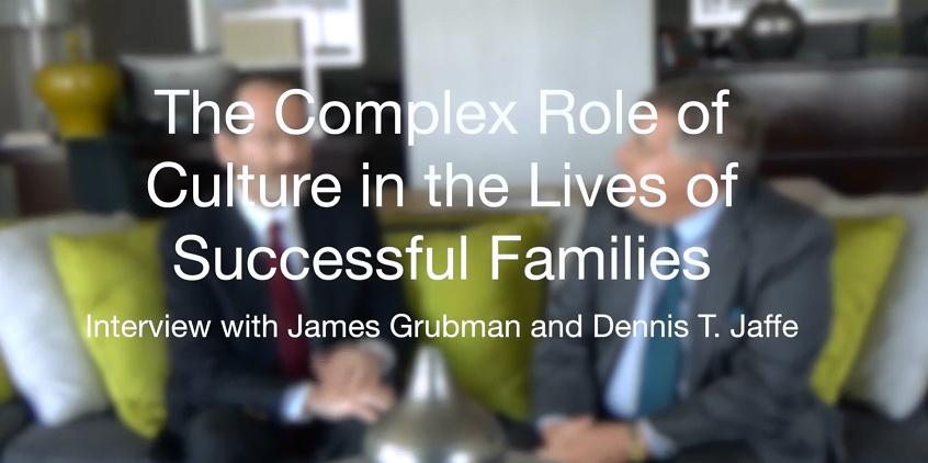 Jim Grubman and Dennis Jaffe Interview