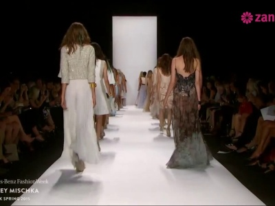 La collection Badgley Mischka Printemps/Eté 2015 : New York Fashion Week