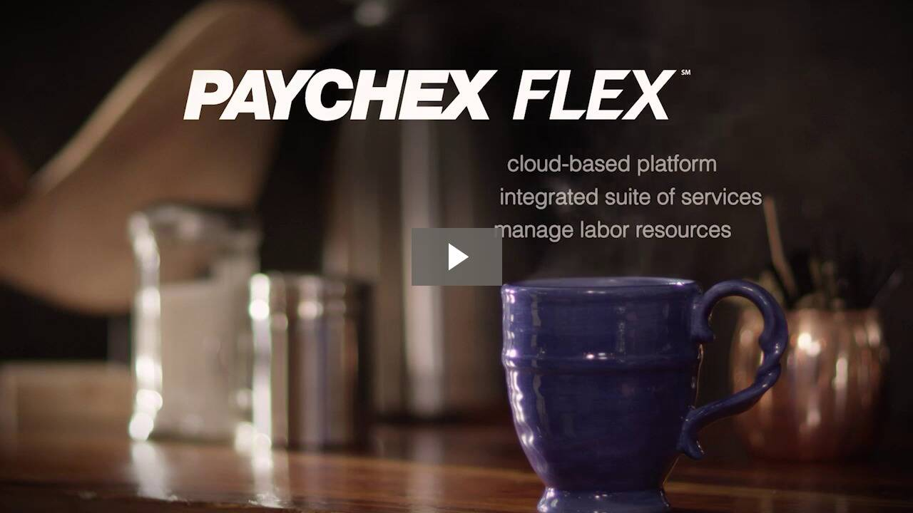 For Larger Clients, Paychex Flex Enterprise