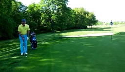 Club Selection When Chipping Downhill
