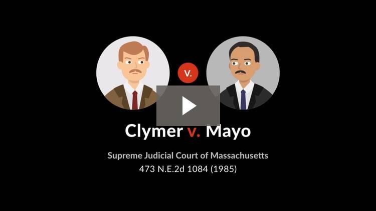 Clymer v. Mayo