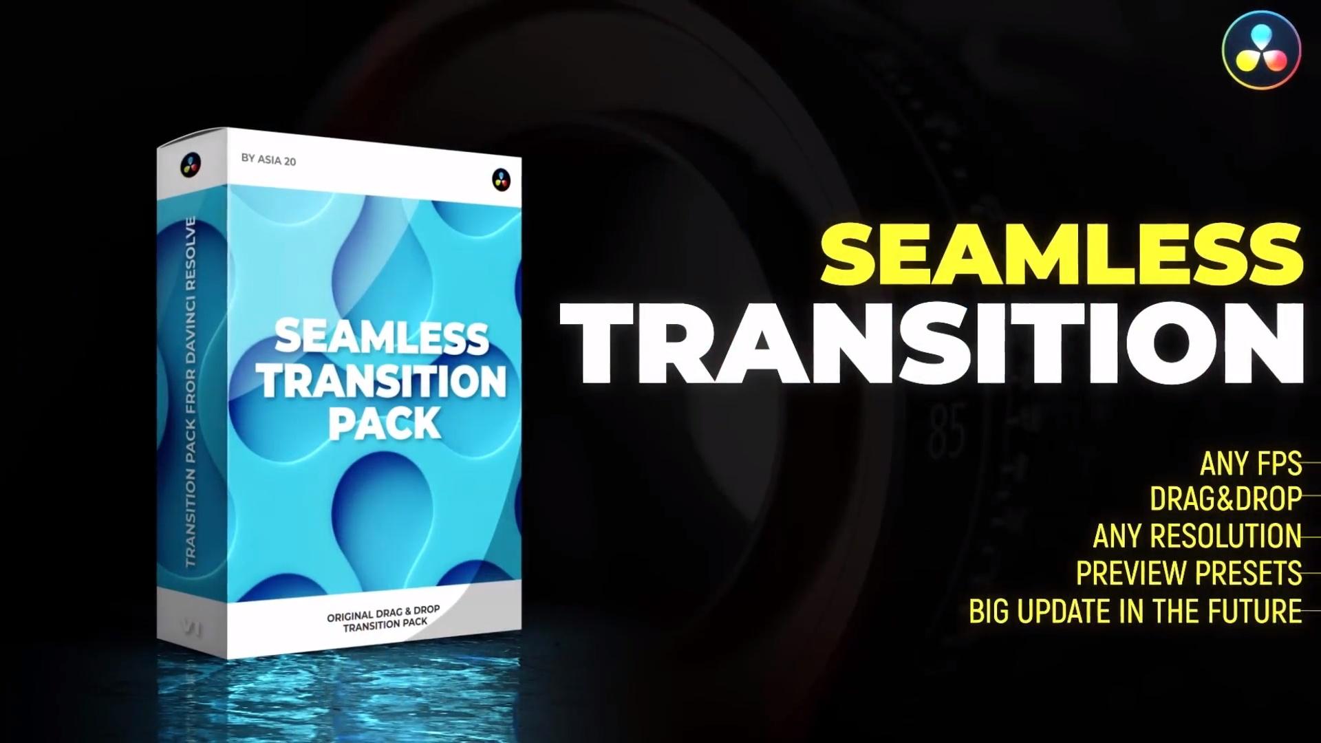 12 Top Transition Templates for DaVinci Resolve