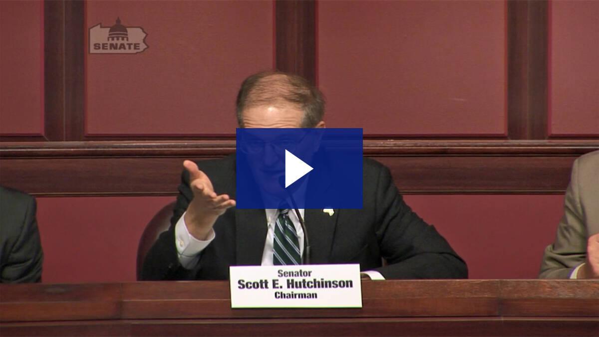 5/1/19 – Consideration of Senate Bill 478 and Senate Bill 568