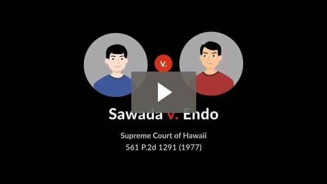 Sawada v. Endo