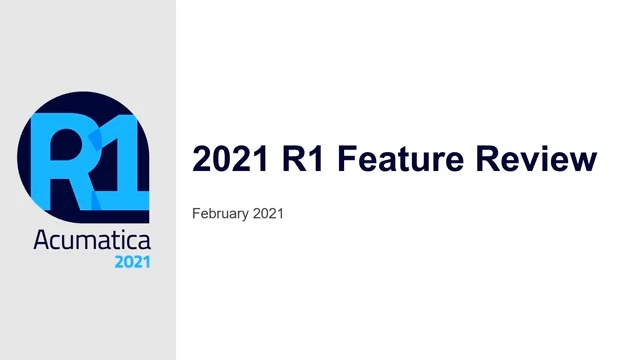 2021 R1 Features Video - Indexed